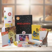 Enchnatico box _Books subscription for 5 to 6 years age