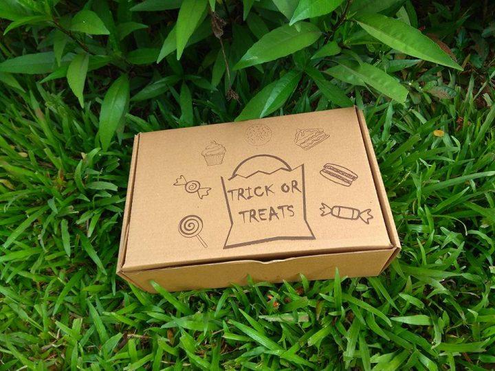 trick treats box