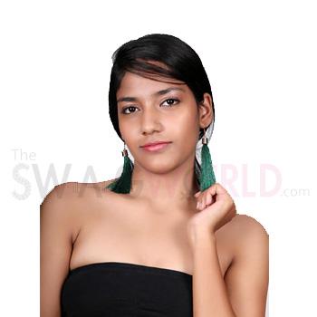 Samaira Green Earrings (2)