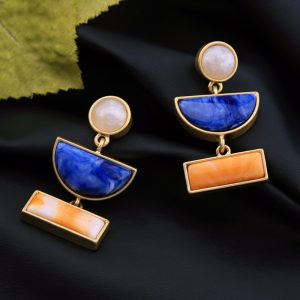 Neelam Earrings