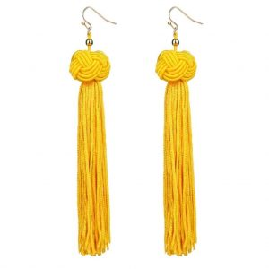 Harleen Yellow Earrings