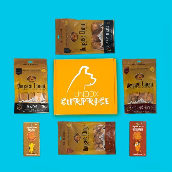 Dog Chew wow dog subscription