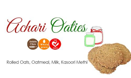 Achari Cookies poshtick