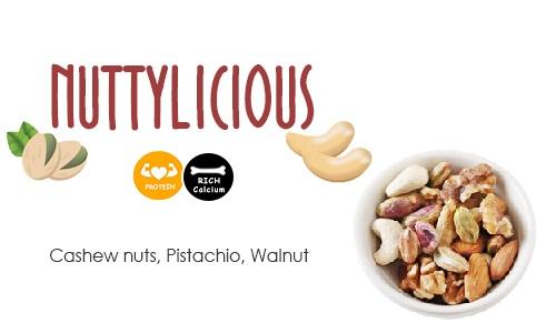 Nuttylicious poshtick