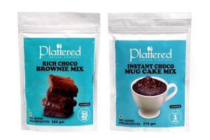 Rich Choco Brownie Cake Mix & Mug Cake Mix Combo