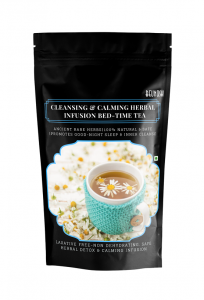 Cleansing & Calming Herbal Infusion-BEDTIME TEA.