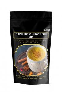 Turmeric Saffron Spice Mix (Premix for Golden Milk)