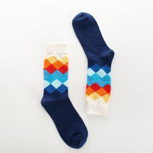 Pure Cotton Crew Length Men/Women Socks,Inskinn101
