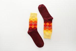 Pure Cotton Crew Length Men/Women Socks,Inskinn103