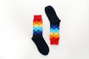 Pure Cotton Crew Length Men/Women Socks,Inskinn107