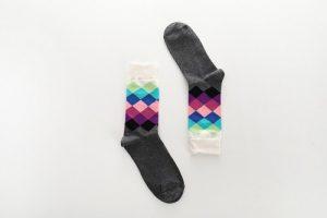 Pure Cotton Crew Length Men/Women Socks,Inskinn112