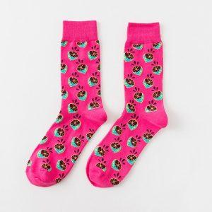 Pure Cotton Crew Length Men/Women Socks,Inskinn121