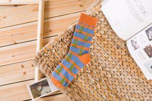 Pure Cotton Crew Length Men/Women Socks,Inskinn137