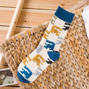 Pure Cotton Crew Length Men/Women Socks,Inskinn140