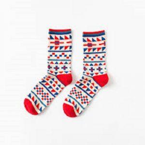Pure Cotton Crew Length Men/Women Socks,Inskinn152