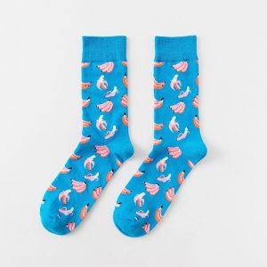 Pure Cotton Crew Length Men/Women Socks,Inskinn207
