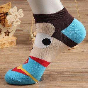 Pure Cotton Ankle Length Men/Women Socks,Inskinn217a