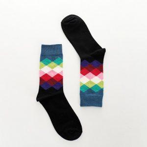 Pure Cotton Crew Length Men/Women Socks,Inskinn237