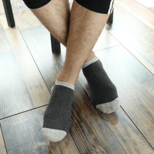 Pure Cotton Ankle Length Men Socks,Inskinn263
