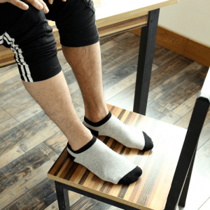 Pure Cotton Ankle Length Men Socks,Inskinn267