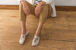Pure Cotton No Show/Loafer Men Socks,Inskinn270