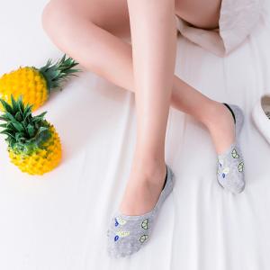 Pure Cotton No Show/Loafer Women Socks,Inskinn274