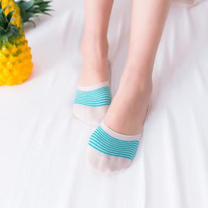 Pure Cotton No Show/Loafer Women Socks,Inskinn276