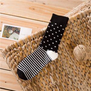 Pure Cotton Crew Length Men/Women Socks,Inskinn307