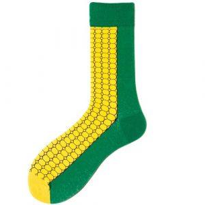Pure Cotton Crew Length Men/Women Socks,Inskinn313