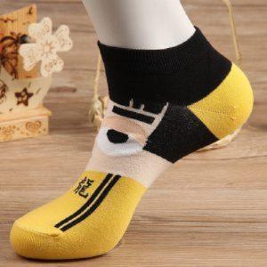 Pure Cotton No Show/Loafer Men Socks,Inskinn349
