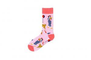 Pure Cotton Crew Length Men/Women Socks,Inskinn354