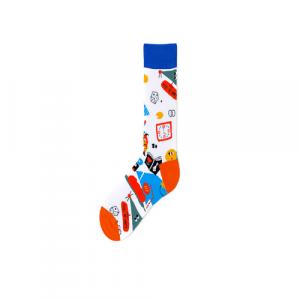 Pure Cotton Crew Length Men/Women Socks,Inskinn363