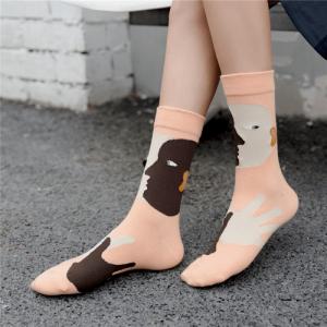 Pure Cotton Crew Length Men/Women Socks,Inskinn368