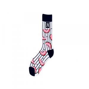 Pure Cotton Crew Length Men/Women Socks,Inskinn369
